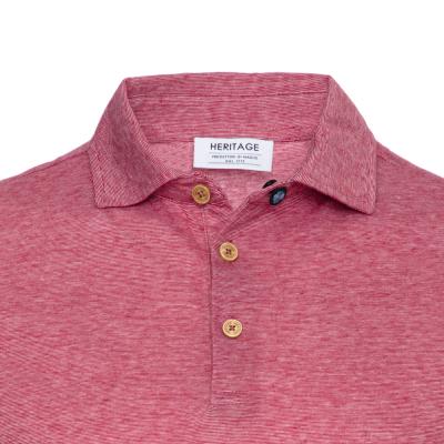 Heritage - Heritage Kırmızı Filafil Polo Yaka T-Shirt (1)