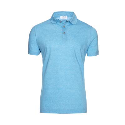Heritage - Heritage Turkuaz Filafil Polo Yaka T-Shirt