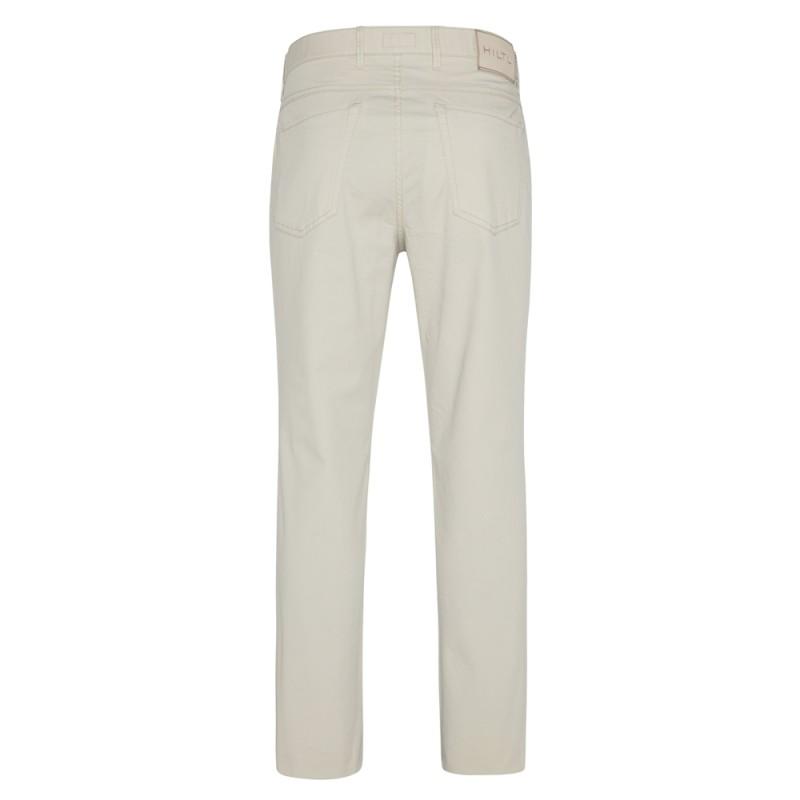 Hiltl - Hiltl 5 Cep Bej Regular Fit Pamuk Elastan Pantolon (1)