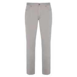 Hiltl - Hiltl 5 Cep Bej Twill Pantolon
