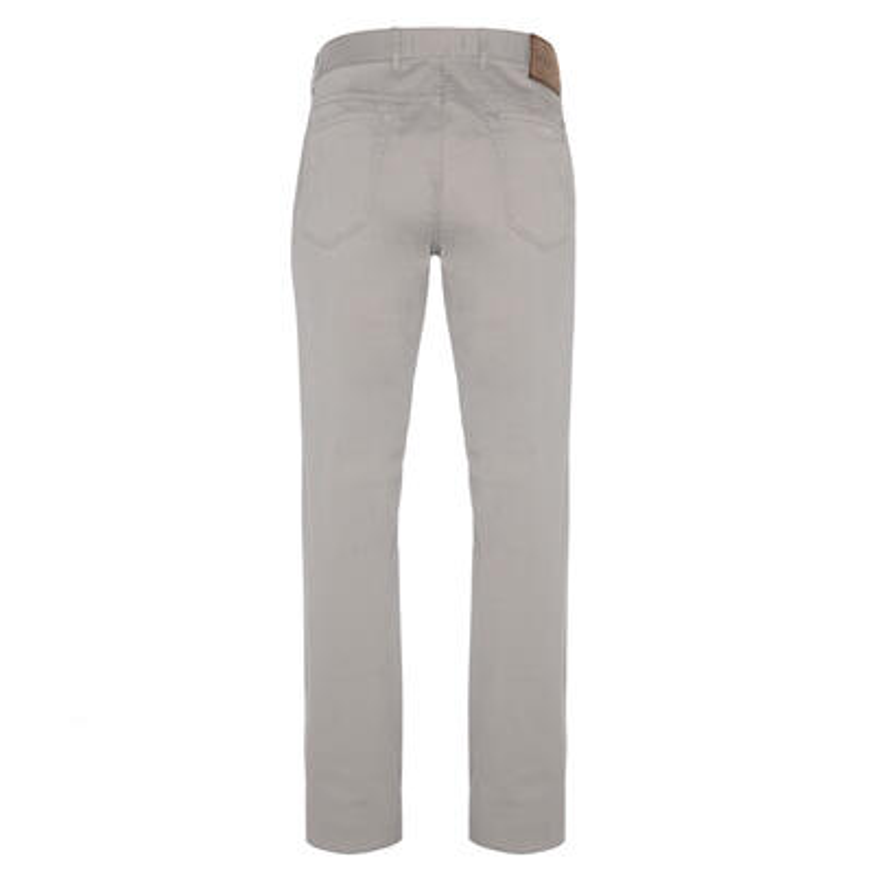Hiltl - Hiltl 5 Cep Bej Twill Pantolon (1)