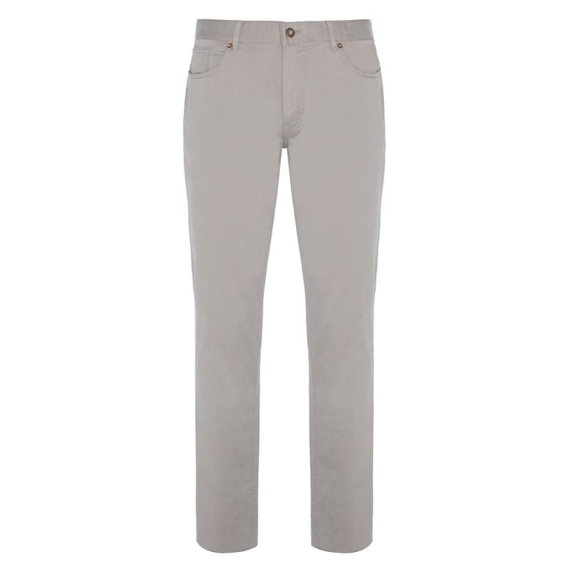Hiltl - Hiltl 5 Pocket Beige Twill Trousers