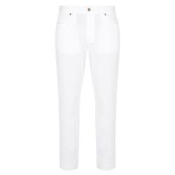 Hiltl - Hiltl 5 Cep Beyaz Twill Pantolon