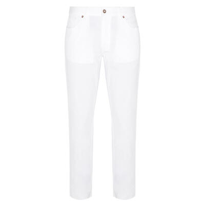 Hiltl - Hiltl 5 Pocket White Twill Trousers