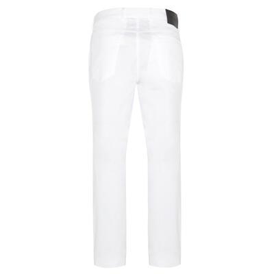 Hiltl - Hiltl 5 Pocket White Twill Trousers (1)