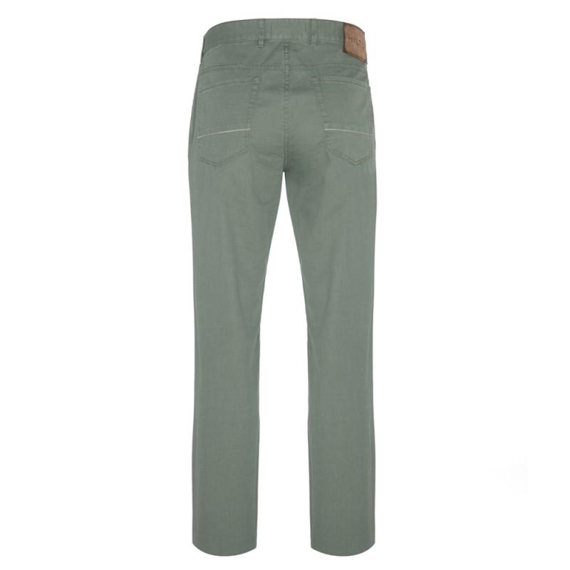 Hiltl - Hiltl 5 Pocket Almond Green Trousers (1)