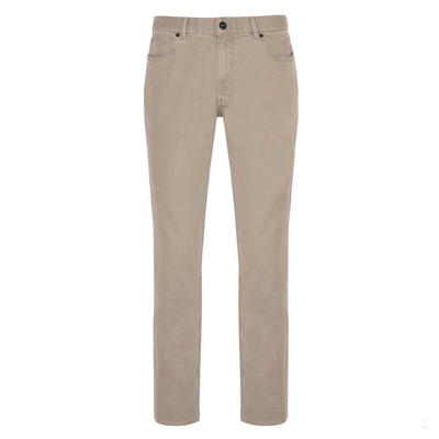 Hiltl - Hiltl 5 Cep Colored Denim Bej Pantolon