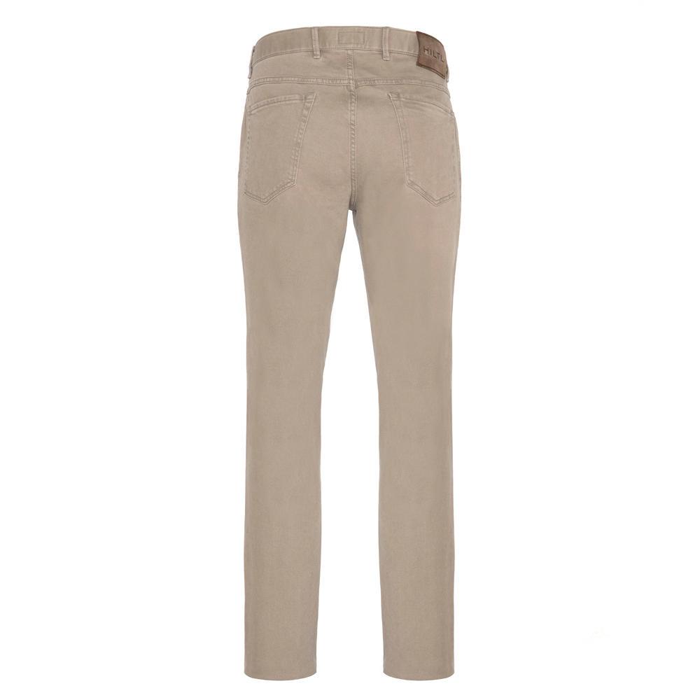 Hiltl 5 Cep Colored Denim Bej Pantolon