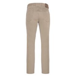Hiltl - Hiltl 5 Cep Colored Denim Bej Pantolon (1)
