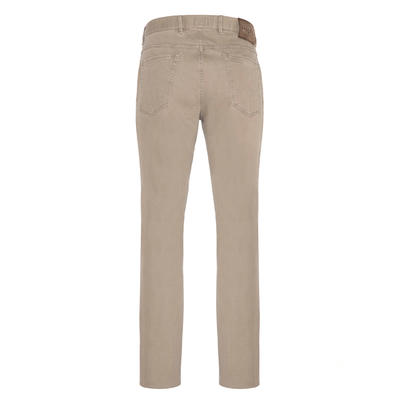 Hiltl - Hiltl 5 Cep Colored Denim Bej Pantolon (1)
