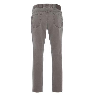 Hiltl - Hiltl 5-Cep Dokulu - Gri Pamuk Pantolon (1)