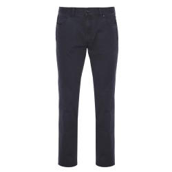 Hiltl - Hiltl 5-Cep Dokulu - Lacivert Pamuk Pantolon