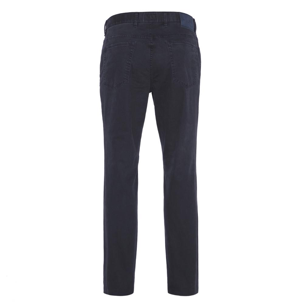 Hiltl 5-Cep Dokulu - Lacivert Pamuk Pantolon