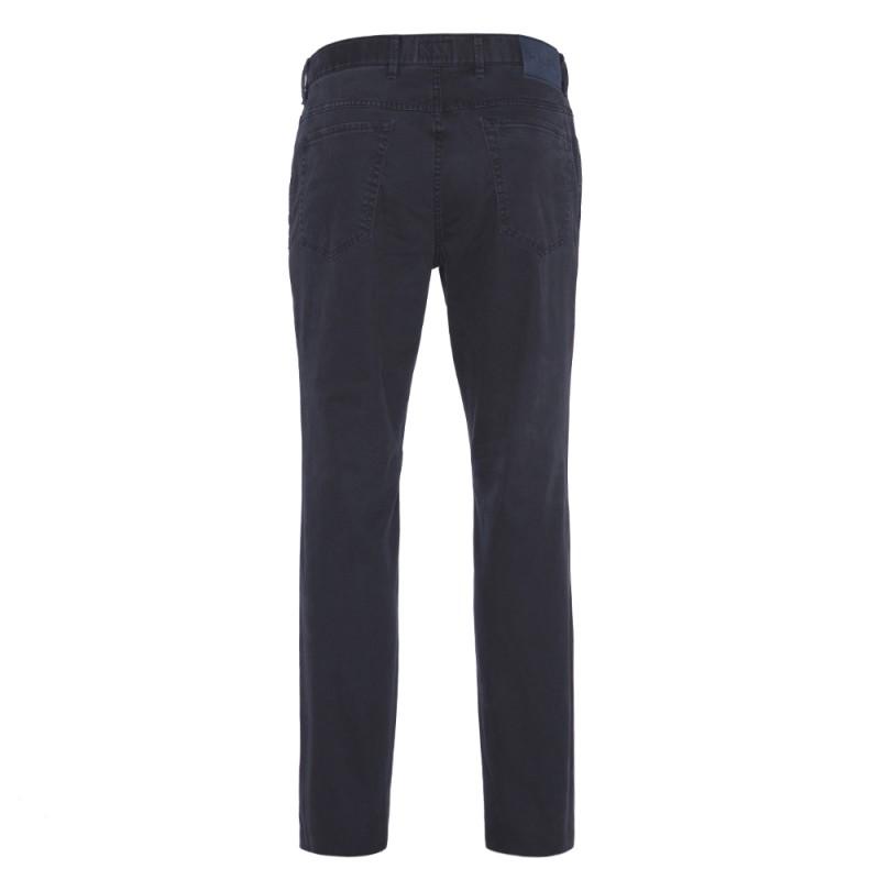 Hiltl - Hiltl 5-Cep Dokulu - Lacivert Pamuk Pantolon (1)