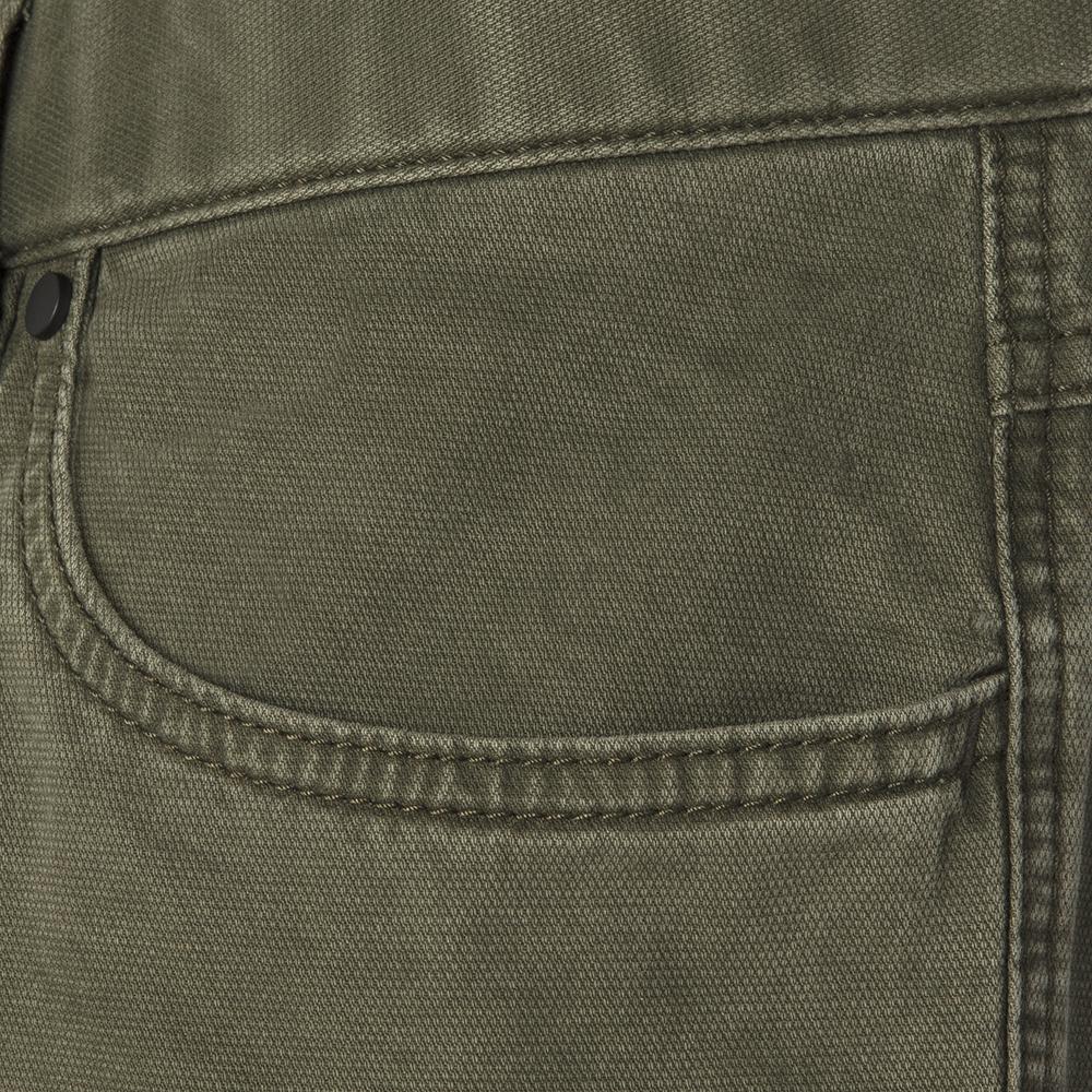 Hiltl 5- Cep Dokulu - Yeşil Pamuk Pantolon