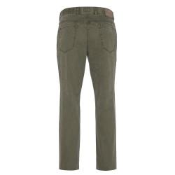 Hiltl - Hiltl 5- Cep Dokulu - Yeşil Pamuk Pantolon (1)