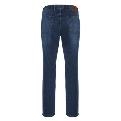 Hiltl - Hiltl 5 Cep Fade Out Denim Lavivert Pantolon (1)