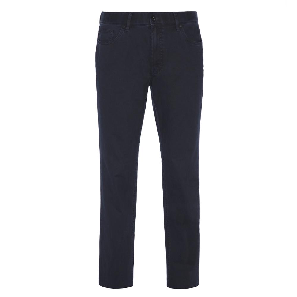 Hiltl 5-Cep Fade - Out Lacivert Pamuk Pantolon
