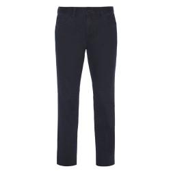 Hiltl - Hiltl 5-Cep Fade - Out Lacivert Pamuk Pantolon