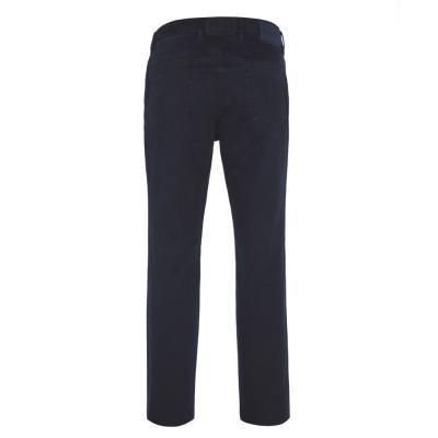 Hiltl - Hiltl 5-Cep Fade - Out Lacivert Pamuk Pantolon (1)