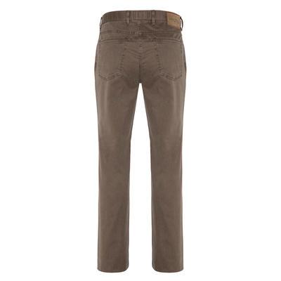 Hiltl - Hiltl 5 Cep Fade Out Ykamalı Açık Kahve Pamuk Pantolon (1)