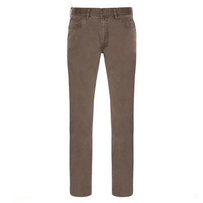 Hiltl - Hiltl 5 Cep Fade Out Ykamalı Açık Kahve Pamuk Pantolon