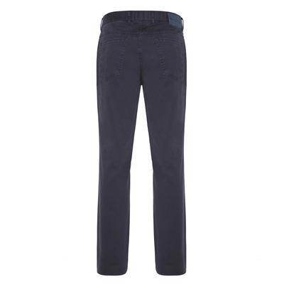 Hiltl - Hiltl 5 Cep Fade Out Yıkamalı Lacivert Pamuk Pantolon (1)