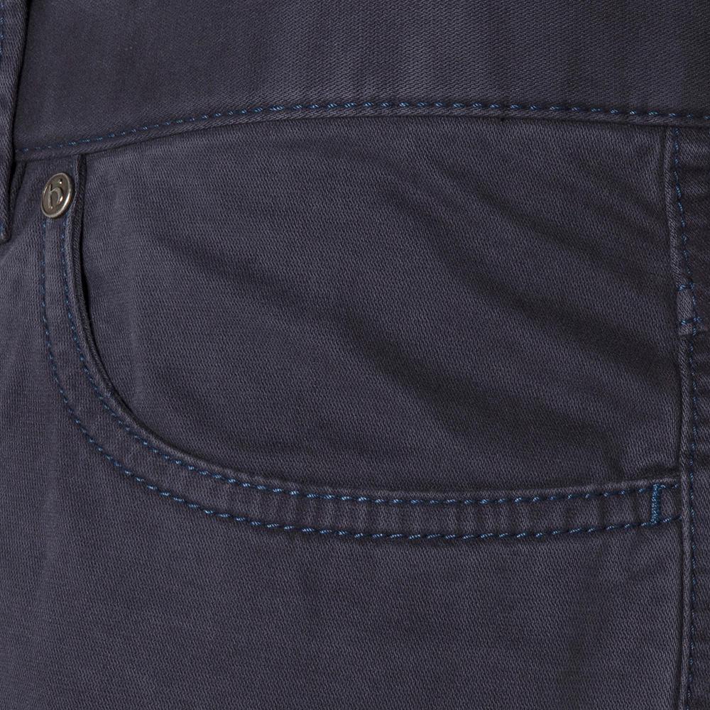 Hiltl 5 Cep Fade Out Yıkamalı Lacivert Pamuk Pantolon
