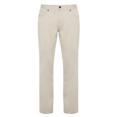 Hiltl - Hiltl 5 Cep İnce A.Bej Pamuk Elastan Pantolon