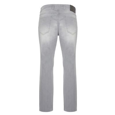 Hiltl - Hiltl 5 Cep İnce Gri Denim Pamuk Elastan Pantolon (1)