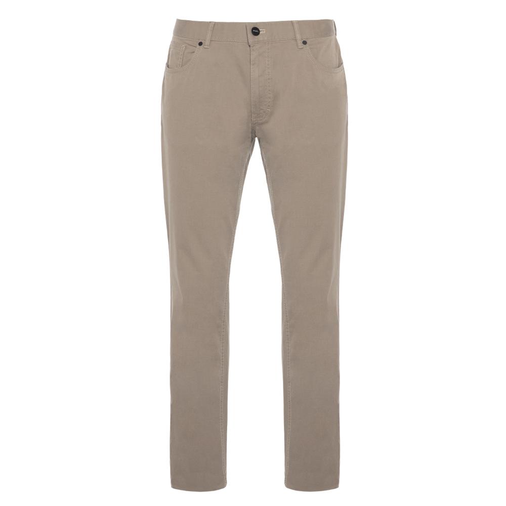 Hiltl 5 Cep İnce Kum Beji Pamuk Elastan Pantolon