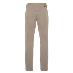 Hiltl 5 Cep İnce Kum Beji Pamuk Elastan Pantolon - Thumbnail