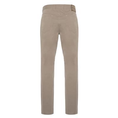 Hiltl - Hiltl 5 Cep İnce Kum Beji Pamuk Elastan Pantolon (1)