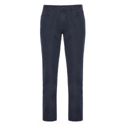 Hiltl 5 Cep İnce Lacivert Pamuk Elastan Pantolon - Thumbnail
