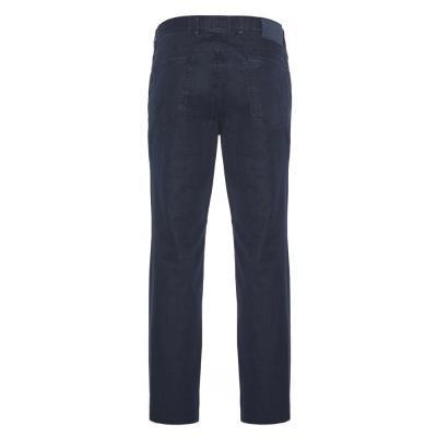 Hiltl - Hiltl 5 Cep İnce Lacivert Pamuk Elastan Pantolon (1)