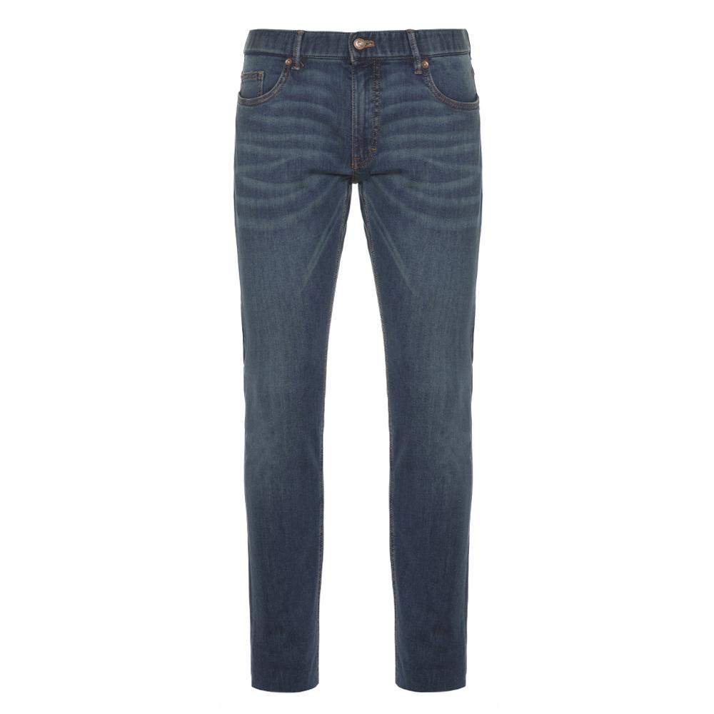 Hiltl 5 Cep İnce Lacivert Pamuk Tensel Elastan Slim Fit Pantolon