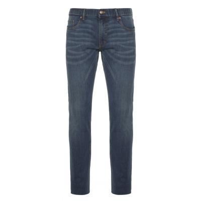 Hiltl - Hiltl 5 Cep İnce Lacivert Pamuk Tensel Elastan Slim Fit Pantolon