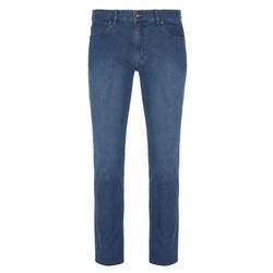 Hiltl - Hiltl 5 Cep İnce Mavi Dallas Denim Pantolon