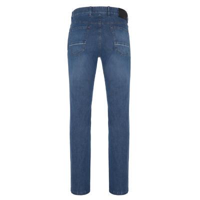 Hiltl - Hiltl 5 Cep İnce Mavi Dallas Denim Pantolon (1)