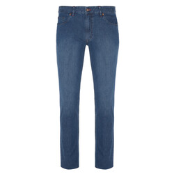 Hiltl - Hiltl 5 Pocket Light Weight Blue Dallas Denim Trousers