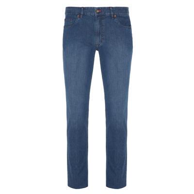 Hiltl - Hiltl 5 Pocket Light Weight Blue Dallas Denim Trousers
