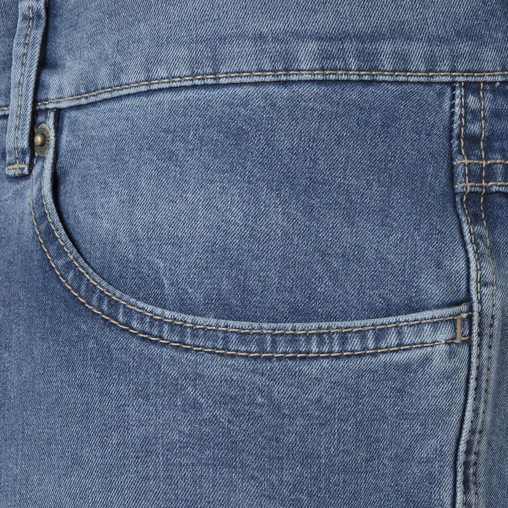 Hiltl 5 Cep İnce Mavi Denim Pamuk Elastan Pantolon