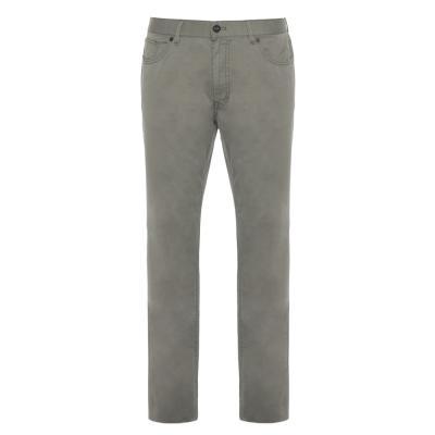 Hiltl - Hiltl 5 Cep İnce Yeşil Pamuk Elastan Pantolon