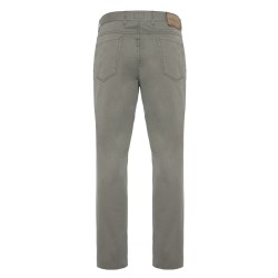 Hiltl 5 Cep İnce Yeşil Pamuk Elastan Pantolon - Thumbnail