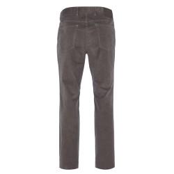 Hiltl - Hiltl 5 - Cep Kadife Dokulu Gri Pamuk Pantolon (1)