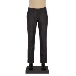 Hiltl - Hiltl 5-Cep Kırçıllı Füme Yün - Pamuk Pantolon