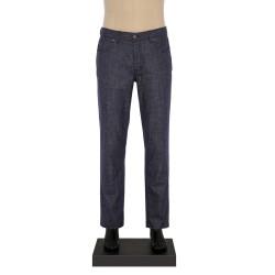 Hiltl - Hiltl 5-Cep Kırçıllı Lacivert Yün - Pamuk Pantolon