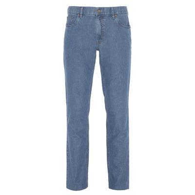 Hiltl 5 Cep Kot Mavi Pamuk Keten Tencel Pantolon