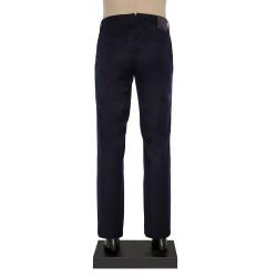 Hiltl - Hiltl 5-Cep Lacivert Yün - Pamuk Pantolon (1)