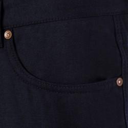 Hiltl 5-Cep Lacivert Yün - Pamuk Pantolon - Thumbnail